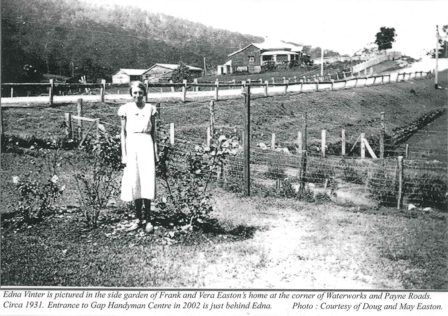 May Easton 1933 – The Gap Historical Society